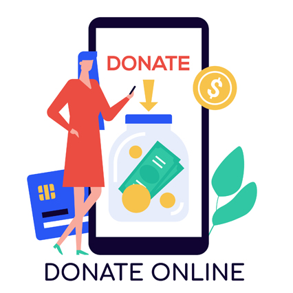 Secure Credit Card Donation
